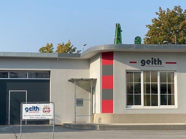 Firmengebäude von Malermeisterbetrieb Geith in Straubing