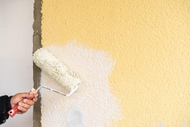 Malerarbeiten an einer Fassade - Malermeisterbetrieb Geith, Straubing